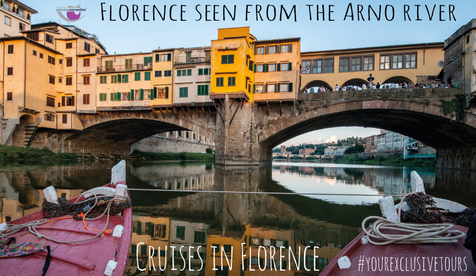 Cruise the Arno river in Florence