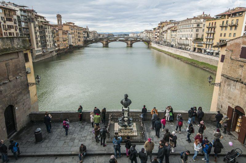 Ponte Vecchio visto dal Corridoio Vasariano