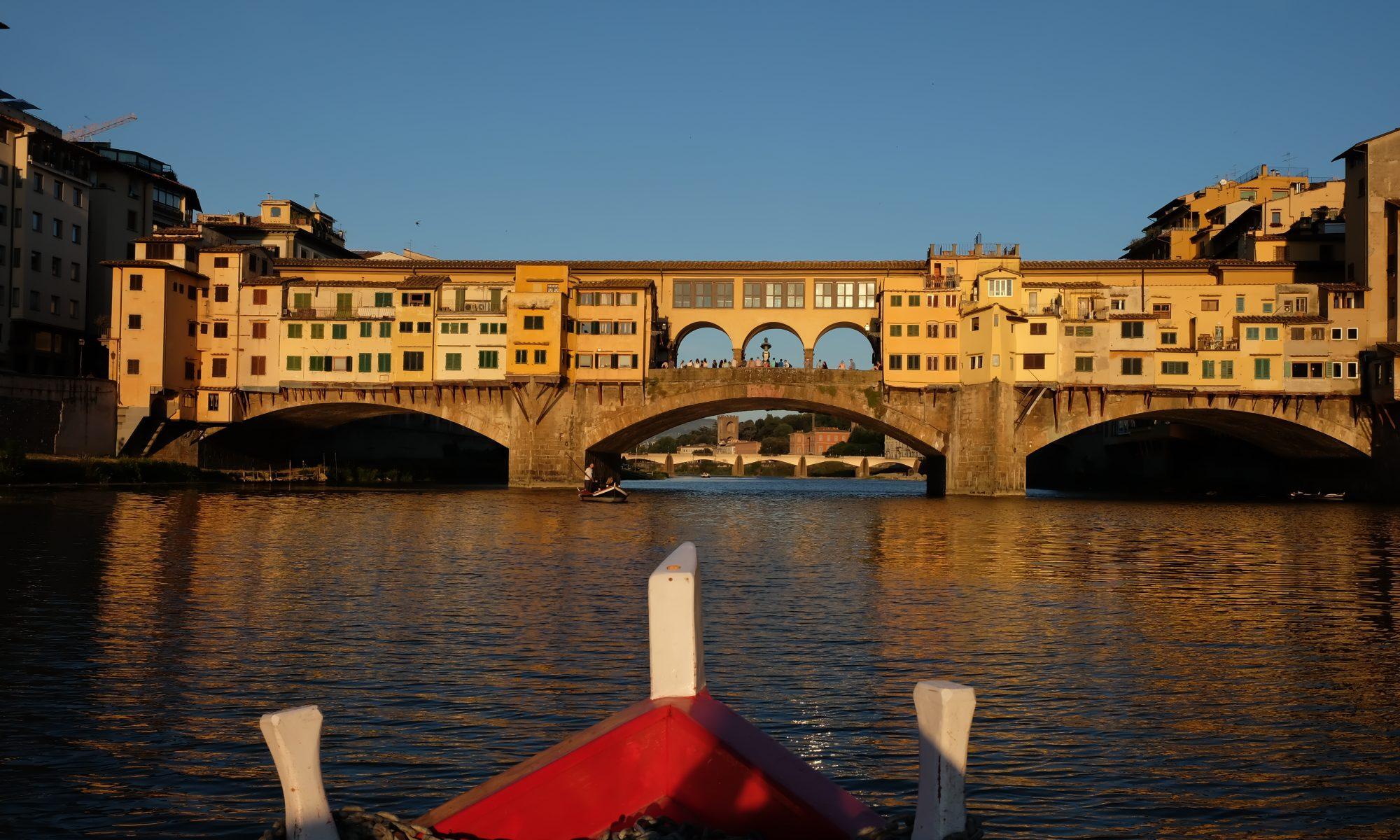 Ponte Vecchio dall'Arno