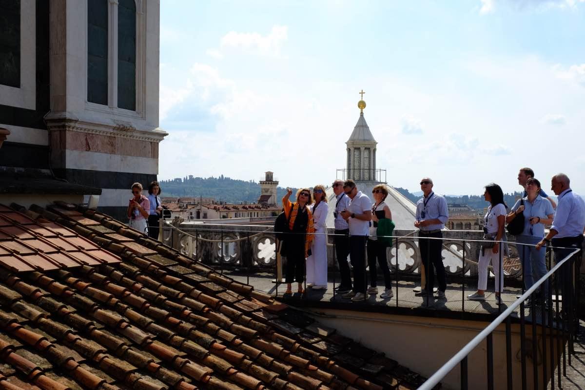 Visita alle terrazze del Duomo