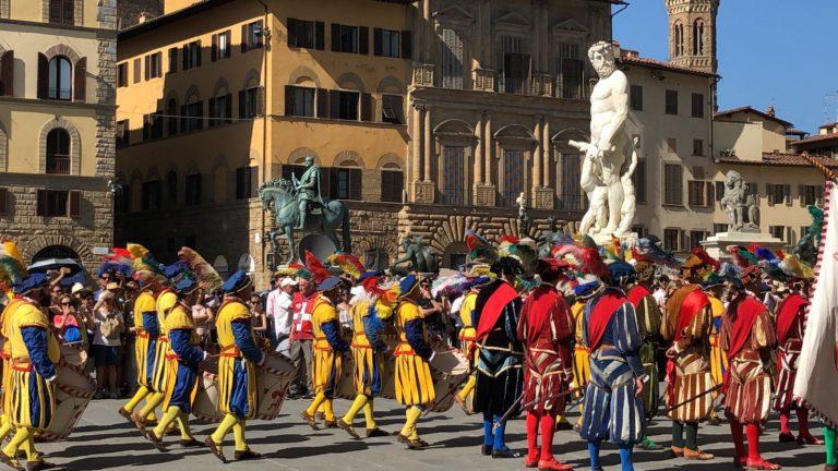 Corteo Calcio Storico Fiorentino